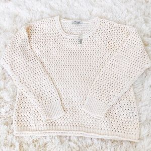 NWT Madewell Open-Stitch Austen Pullover Sweater